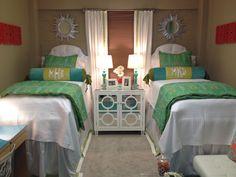 Ole Miss Dorm Room @Carley Powell Stauter, @Theresa Burger Stauter