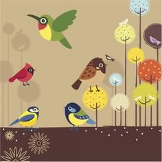 El color de los pájaros, leyenda para niños.