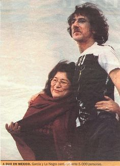 charly garcia y mercedes sosa Indie Music, Music Icon, Mercedes Sosa, The Artist Movie, Ron Woods, Best Crossover, Like A Rolling Stone, Divas, Rock Artists