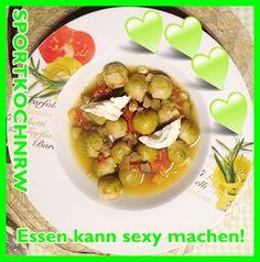 """""""Liebe geht durch den Magen"""" oder wenn das Essen sexy macht!:  """"Rosenkohl-Gemüseeintopf nach Art der Bauern vonL..."""