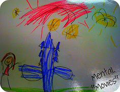 """Mental """"Movies"""" - an idea for teaching children how to picture a story in their head"""