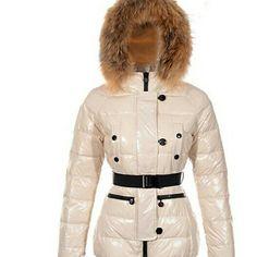 Moncler Gene Design Down Jackets Womens Decorative Belt Beige #moncler #gene #downjackets #whitejackets #belt #fashion #female #coats #girlslove #smilr #forsale #jacketsseller #white #love #instagood #happy #tbt