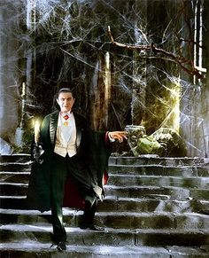 Bela Lugosi ~~ (Dracula) ~~ colourised by Maria-Musikka Classic Monster Movies, Classic Horror Movies, Classic Monsters, Horror Icons, Horror Art, Frankenstein, Lugosi Dracula, Hollywood Monsters, Count Dracula