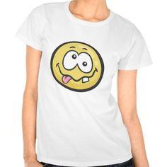 Emoji: Stupid Face T Shirt