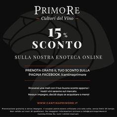 I nostri vini arriveranno a settembre! Prenota gratis e senza impegno il tuo…