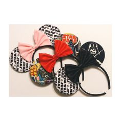 Star Wars @house0fmouse mouse ears, all for sale on etsy!