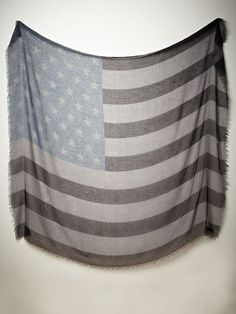 Free People Tattered Flag Scarf, $38.00