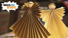 papirengel i gull