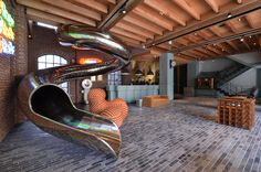 Built by Steven Wu+Wang Pe-Jen in , Taiwan with date 2014. Images by Andrew Chang / Double Hong. Reddot Hotel is transformation of a thirty-five year old hotel formerly the Galaxy Hotel. 2014, the building was reco...