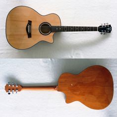 Taylor Acoustic [Custom]  Top body : Spruce  Backside : Polywood  Neck.       : Mahogany trussrod  Tuner.       : Grover stainless