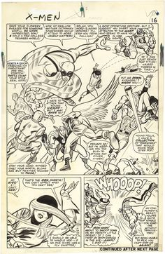 The X-Men, Issue 9, Page 13 - Jack Kirby
