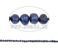 Free shipping!!!Baroque Cultured Freshwater Pearl Beads,Men Jewelry, 5-6mm, Hole:Approx 0.8mm, Sold Per 15 Inch Strand