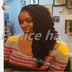 12 Strands/Piece Crochet Braiding Hair Extensions Beauty Havana Mambo Twist,High Quality Curly Braids Eunice Brand Hair Company