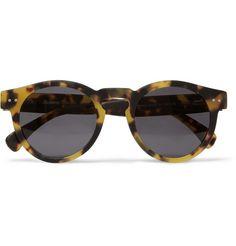 lunettes de soleil leonard couleur écaille par Illesteva chez MrPorter