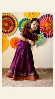 Cotton Frocks For Kids, Frocks For Girls, Kids Frocks Design, Baby Frocks Designs, Kids Dress Patterns, Baby Clothes Patterns, Kids Dress Wear, Kids Wear, Baby Dress