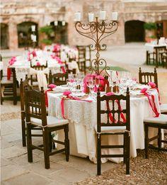 Mexican Wedding Decoration candelabra