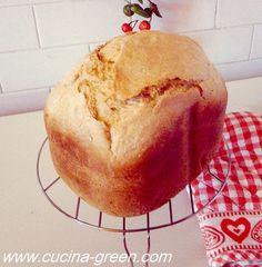 PANE DI GRANO DURO CON LA MACCHINA DEL PANE - Cucina Green con Moulinex forse meglio programma 4 pane integrale che ha lievitazione e cottura più lunghe