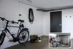 Malowanie natryskowe - odświeżamy garaż. ~ Od inspiracji do realizacji Stationary, Bike, Bicycle, Bicycles