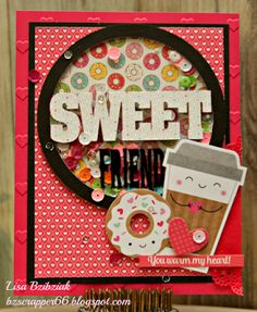 Life of a BZscrapper, Cutting Cafe Word Windows Cutting File, Doodlebug Cream & Sugar Paper and Odds & Ends, Cutting Cafe Conversation Heart Stamp Set by Thia Gielow