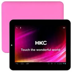 "HKC Tablet with 8GB Memory 8"" Pink 