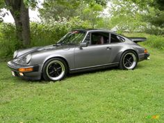 Meteor Grey Metallic 1986 Porsche 911 Carrera Coupe