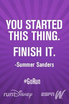 There's no stopping now #GoRun