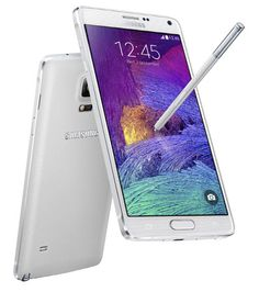 Samsung has announced the launch of the Samsung Galaxy Note 4 in India. The device, though flaunts the same design language seem in the Note series, has a new smooth metallic finish giving an added premium feel to the exotic device. There is also an aluminium frame running around the sides of the device. The S Pen stylus holder is right at the bottom right corner.