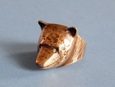 Bronze Ring, Marimekko, Scandinavian, Gold Rings, Cufflinks, Crafts, Jewellery, Designers, Bear