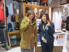 【大阪店】2015.02.27 今年の春から国体大阪の女子の監督をされるお客様と一枚(*^_^*)一度お会いしているのかも知れませんね、、!?お話しもっと聞きたかったです(*_*)!!!また、顔出して頂けたら嬉しいです♫