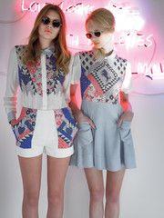 Suzy Patch Dress by Sretsis - Maximillia eBoutique