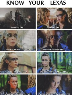 Lexa The 100, The 100 Clexa, The 100 Show, The 100 Cast, Hunger Games, Series Movies, Tv Series, Commander Lexa, Clarke And Lexa