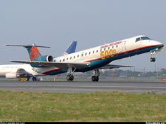 Embraer ERJ-145LR (EMB-145LR) aircraft picture America West Airlines, Us Airways, Commercial Aircraft, Aircraft Pictures, Air Travel, Spacecraft, Luxury Living, Airplane, Planes