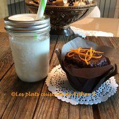 Les plats cuisinés de Esther B: Muffins au chocolat et à l'orange