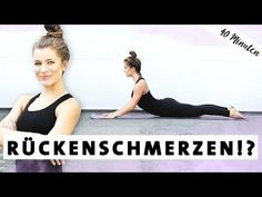 Yoga for back pain Strong and healthy back Exercises for at home - Yoga for back pain Exercises for at home – Mady Morrison – Yoga Lifestyle Starker und Gesunder R - Insanity Workout, Best Cardio Workout, Pilates Workout, Yoga Routine, Stretch Routine, Yoga Inspiration, 30 Tage Yoga Challenge, Yoga Sequences, Yoga Poses