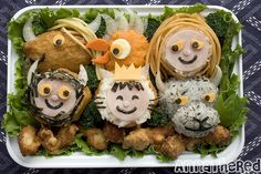 Anna the Red  Bento #65: Where the Wild Things Are #2, Created and eaten on 10/6/2009