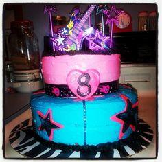 Rockstar cake I made