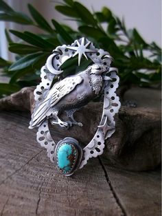 The Raven Necklace - Carico Lake Turquoise