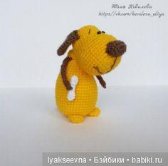 Всем доброго времени суток В преддверии Нового Года «желтой собаки» хочу поделиться с вами описанием маленького, забавного пёсика, с собственной