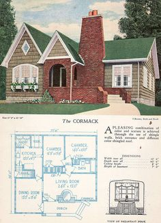 1928 Home Builders Catalog The Cormack