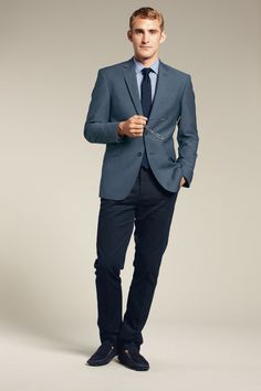 Make sure your jacket and pants fit well. See a tailor if you need to.