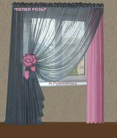50 Beautiful Home Curtain Designs Ideas If You're searching for curtain ideas to provide you with some inspiration. There are several kinds of curtains out there on the market that can be combined with each other to create a unique and beautiful effect. Curtains And Draperies, Home Curtains, Curtains Living, Curtain Styles, Curtain Designs, Curtain Ideas, Rideaux Design, Futuristisches Design, Beautiful Curtains