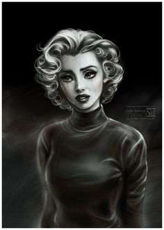 Lonely Marilyn by daekazu on DeviantArt