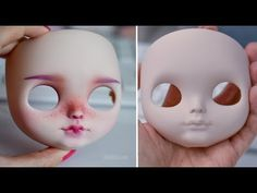 BLYTHE DOLL FACEUP TUTORIAL - YouTube