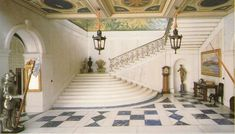 Queen Mary's Doll House - The Foyer
