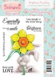 Bebunni Floral Stamp - Brighten My Day