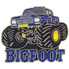 """Bigfoot Monster Truck Pin 1"""" by FindingKing. $8.99. This is a new Bigfoot Monster Truck Pin 1"""""""