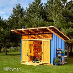 below, in additional information, are the materials list and construction drawings for the perfectly practical shed in the july/august 2015 issue. these are pdf files that you can download and print.