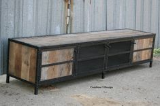 Vintage Industrial Media Console/Credenza. Retro by leecowen