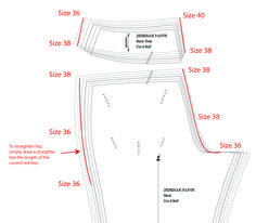 """Tutorials – Tagged """"Grading Between Sizes"""" – Thread Theory Sewing Pants, Sewing Clothes, Skirt Sewing, Techniques Couture, Sewing Techniques, Pattern Grading, Skirt Patterns Sewing, Coat Patterns, Blouse Patterns"""