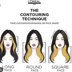 Face Contouring with Balayage? Yeah, It's a Thing! Hair Color Streaks, Hair Color Purple, Blonde Streaks, Peekaboo Hair Colors, Two Color Hair, Korean Hair Color, Hair Dye Colors, Blonde Balayage, Hair Color Formulas
